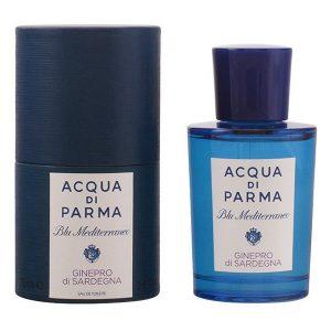 Unisex Perfume Blu Mediterraneo Ginepro Di Sardegna Acqua Di Parma EDT 75 ml
