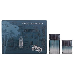 Men's Perfume Set Agua De Bambú Adolfo Dominguez (2 pcs)