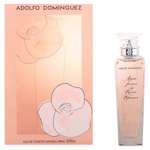Women's Perfume Agua Fresca Rosas Blancas Adolfo Dominguez EDT collector 200 ml