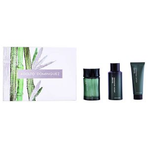 Men's Perfume Set Bambú Adolfo Dominguez (3 pcs)
