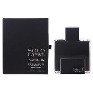 Men's Perfume Solo Loewe Platinum Loewe EDT 100 ml