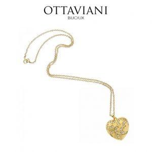 Ottaviani® Colar Heart Gold