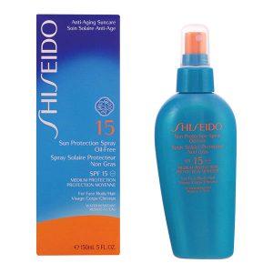 Shiseido - SUN PROTECTION oil-free SPF15 vaporizador 150 ml