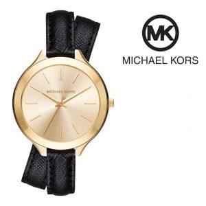 Relógio Michael Kors® Slim Runway Gold Tone Dial | 5ATM