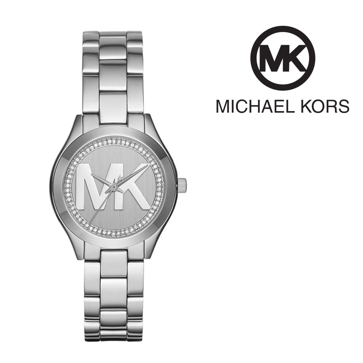 a9861d0b8 Relógio Michael Kors® Runway Slim Mini ll Silver | 5ATM - You Like It