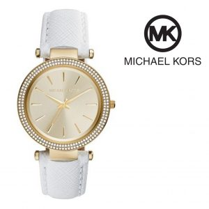 Relógio Michael Kors® Darci Champange Dial White | 5ATM