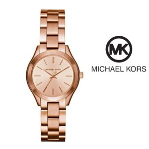 Relógio Michael Kors® Mini Slim Runway Rose Gold | 5ATM