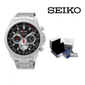 Relógio Seiko® Kinetic Chronograph