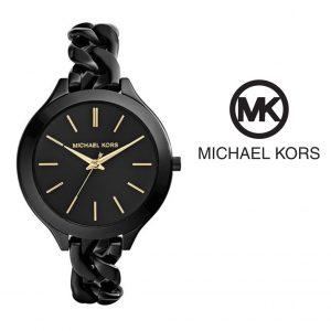 Michael Kors® Black Slim Runway Chain Watch | 5ATM