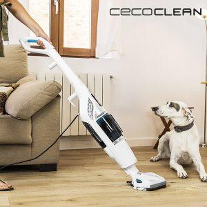 Aspirador Ciclónico e Vaporeta Cecoclean Steam & Clean 5055