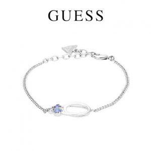 Pulseira Guess® Crystal Bouquet Silver