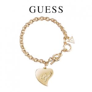 Guess® Pulseira Love Dourado
