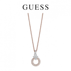 Colar Guess® Embrace Me Rose Tone