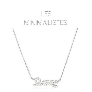 Les Minimalistes® Colar Shiny Love