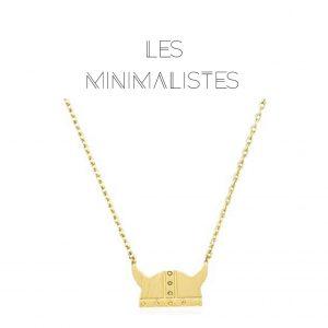 Les Minimalistes® Colar Salomé Gold