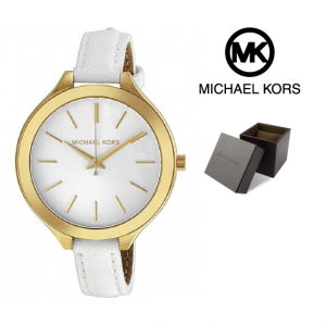 Relógio Michael Kors® Slim Runway White Dial | 5ATM