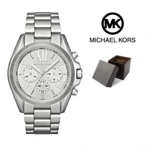 Relógio Michael Kors® Bradshaw Chronograph Silver | 10ATM