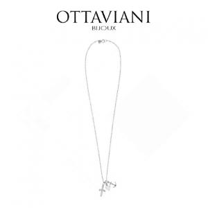 Ottaviani® Colar Love Anchor | Prateado