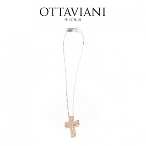 Ottaviani® Colar Bright Cross Pendant