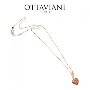 Ottaviani® Colar Rose's Heart | Rose Gold