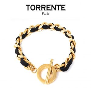 Torrente® Pulseira Interlaced Gold