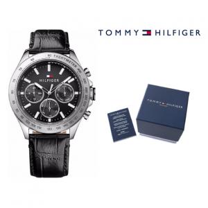 Relógio Tommy Hilfiger® Hudson Black | 5ATM