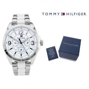 Relógio Tommy Hilfiger® White Stripes | 3ATM