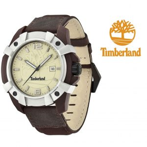 Relógio Timberland® Men's Brown Chocorua | 10ATM