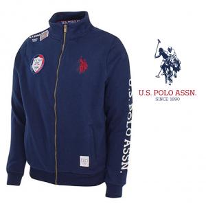 U.S. Polo ® Casaco Azul Logo Vermelho