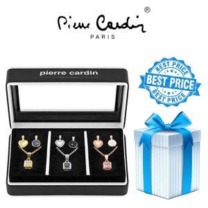 Conjunto Pierre Cardin® 3 Colares + 6 Pendentes