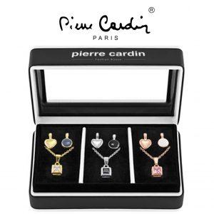 Conjunto Pierre Cardin® 3 Colares + 9 Pendentes