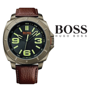 Relógio Hugo Boss Orange® Paulo Brown Leather Strap | 5ATM