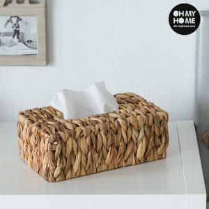 Caixa de Lenços em Folha de Milho Oh My Home