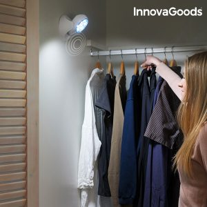 Candeeiro LED Com Sensor de Movimento InnovaGoods Home LED