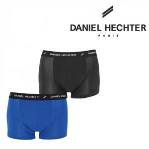 Daniel Hechter Paris® Pack de 2 Boxers | Azul & Preto