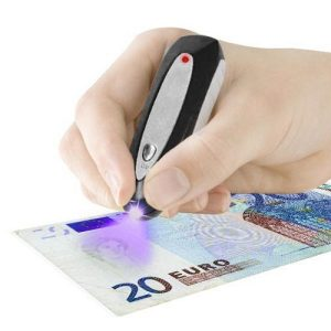 Detetor de Notas Falsas Banknote Check