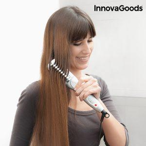 Escova Alisadora Elétrica InnovaGoods Wellness Beauté