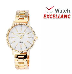Relógio Excellanc Dourado Com Brilhantes
