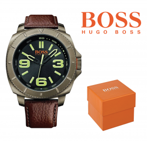 Relógio Hugo Boss Orange® Paulo Brown Leather Strap | 5ATM