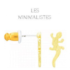 Les Minimalistes® Brincos Jeanne