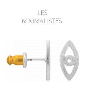 Les Minimalistes® Brincos Lily