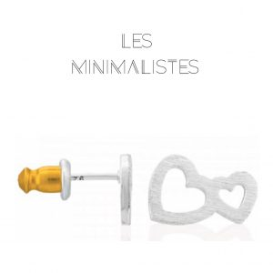 Les Minimalistes® Brincos Elsa