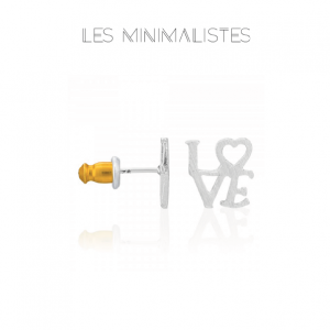 Les Minimalistes® Brincos Love
