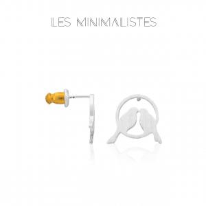 Les Minimalistes® Brincos Jade