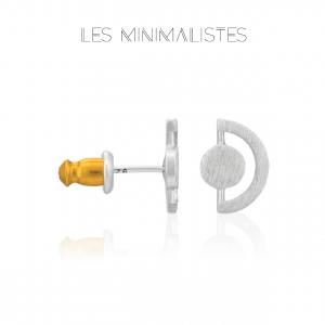 Les Minimalistes® Brincos Chloé Silver