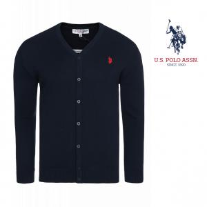 U.S. Polo Assn® Blue Logo Jacket Red
