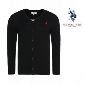 U.S. Polo Assn® Black Logo Jacket Red