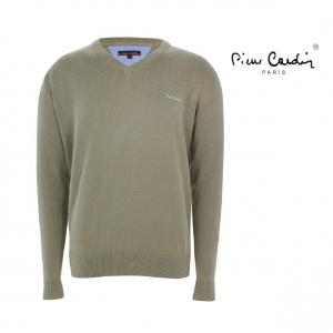 Pierre Cardin® Camisola de Malha Verde - Tamanho XXL