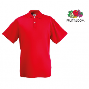 Fruit Of The Loom® Polo Vermelho