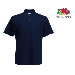 Fruit Of The Loom® Polo Bleu marine
